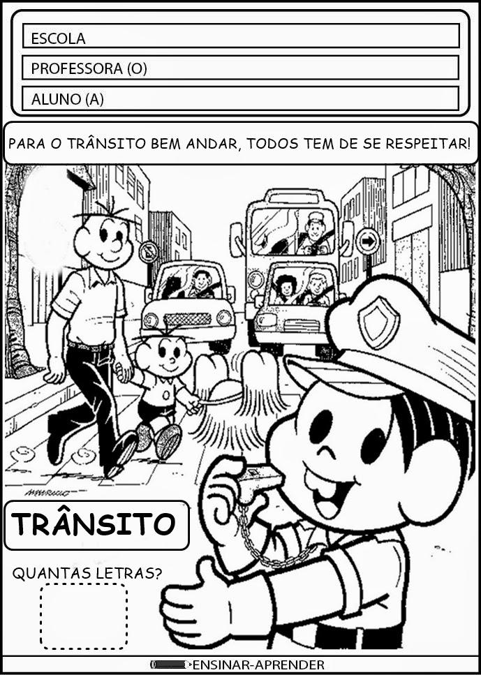 ATIVIDADES ESCOLARES SEMANA DO TRÂNSITO