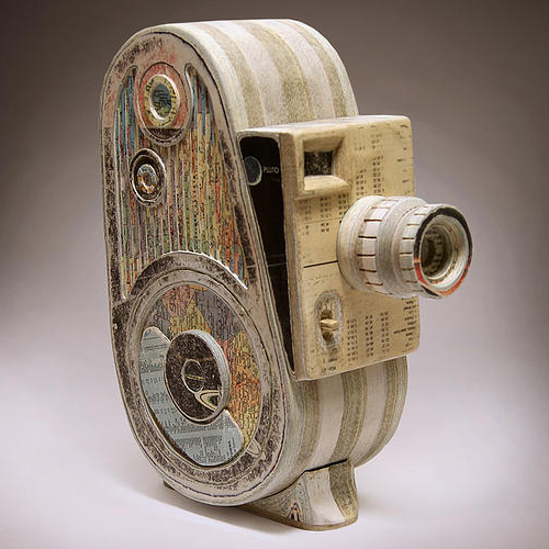 06-Bell-and-Howel-Ching-Ching-Cheng-Vintage-Camera-Sculptures-Made-of-Books-and-Maps-www-designstack-co