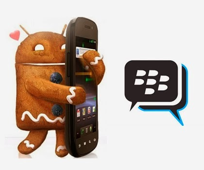 Download BBM (BlackBerry Messenger) For Android GINGERBREAD