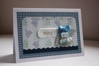 Handmade Baby boy cards for newborn