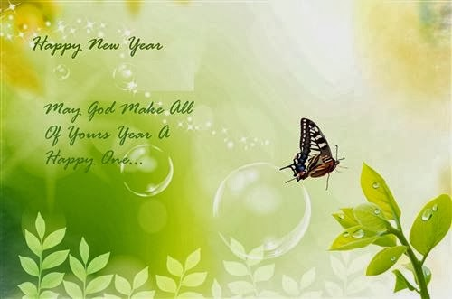 Best Example Of New Year 2015 Greeting With Messages