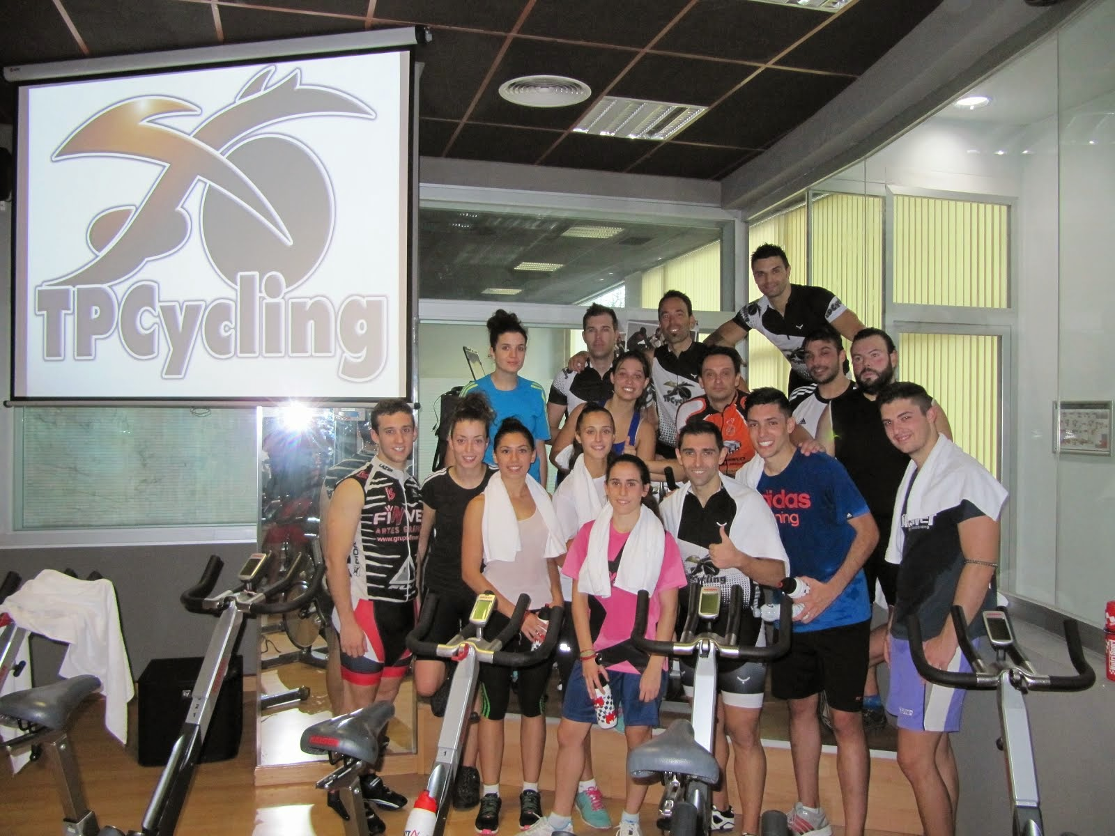 26ª Formación TPCycling en Zagros Sports
