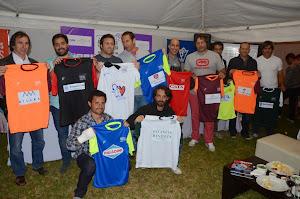 Ex Pumas brillaron en el Rugby/Golf & Wine Tour 2014