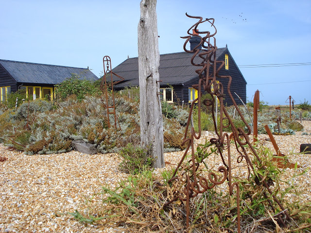 Sculpture at Prospect Cottage