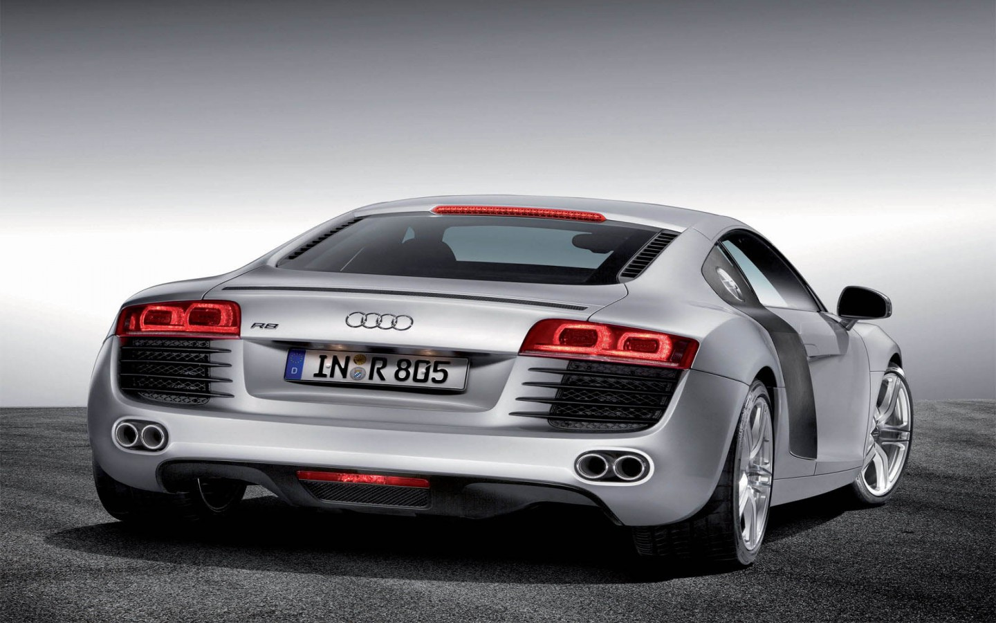 Hd Car Wallpapers Audi R8 Back View