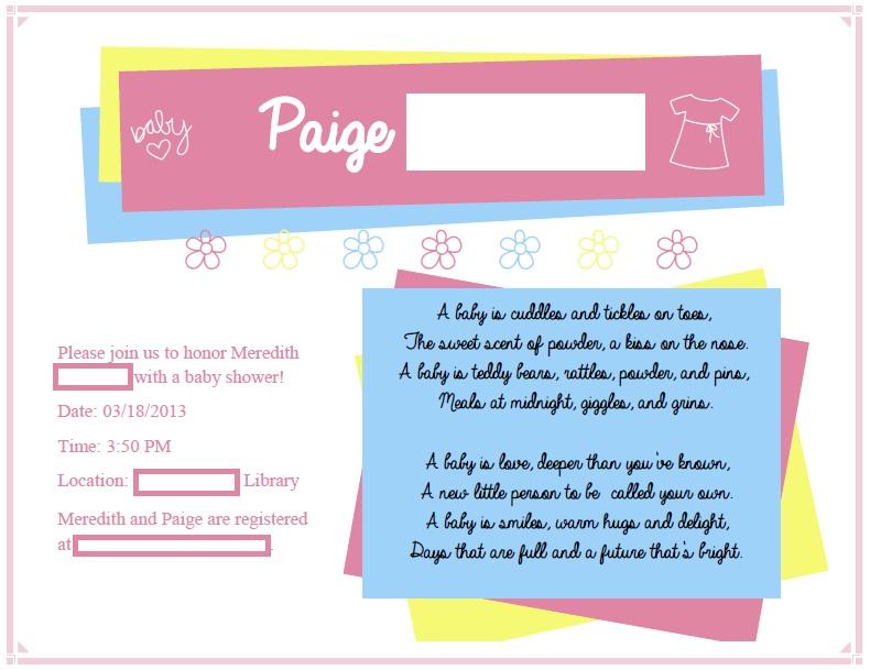 Allie\'s Invites