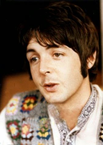 Paul McCartney and his Granny Square Vest