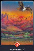 Carte les possibilités zen tarot osho