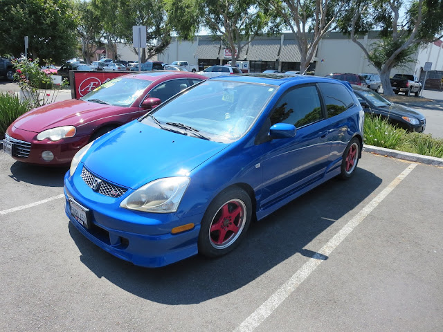 Honda Civic Si repainted at Almost Everything Auto Body