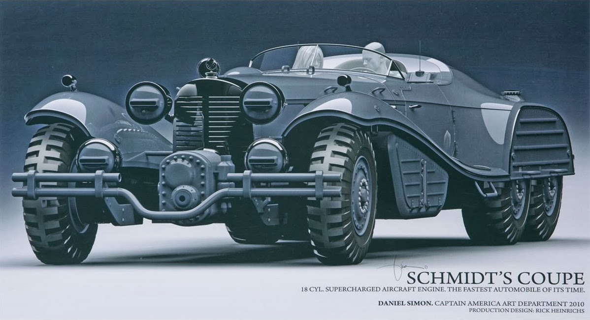 CAPTAIN AMERICA: THE FIRST AVENGER Hydra Vehicle Concept Designs by ...