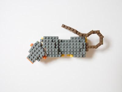 ナノブロックで作った鵼