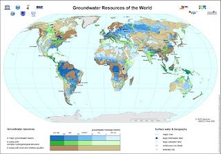 Yeraltı Su Kaynakları Haritası