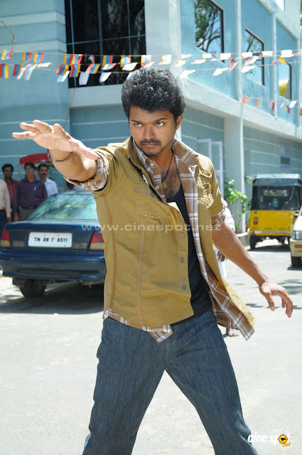 Vijay in 'Vettaikaran' Movie 1