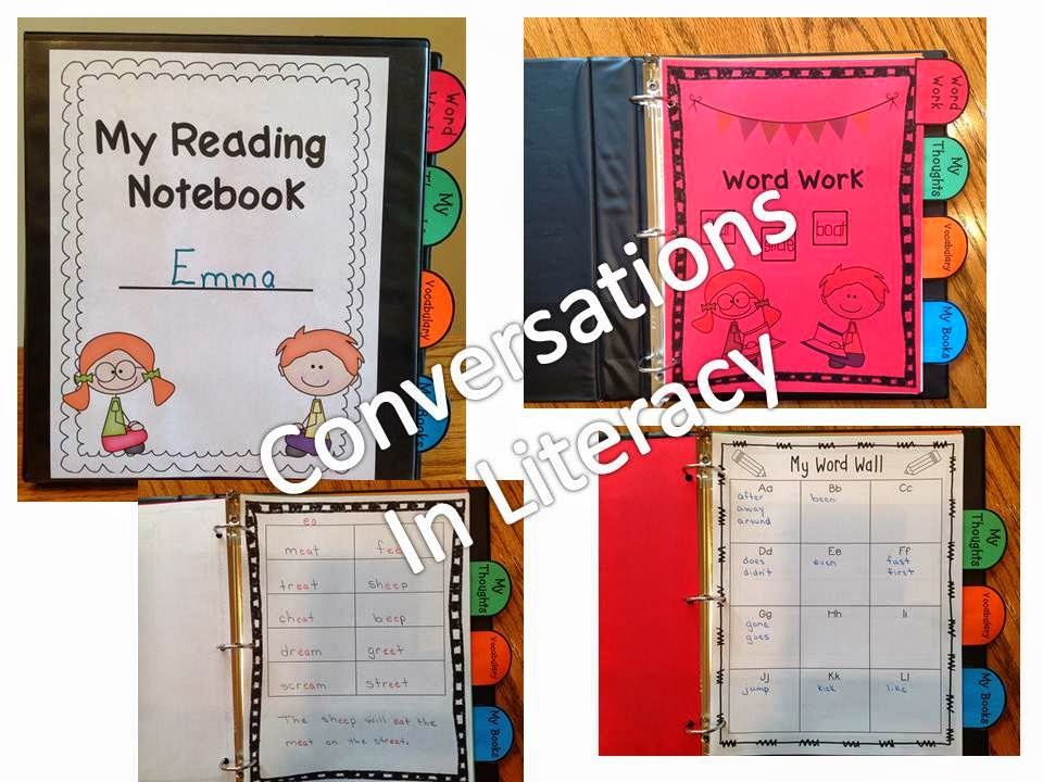 using an interactive reader's notebook