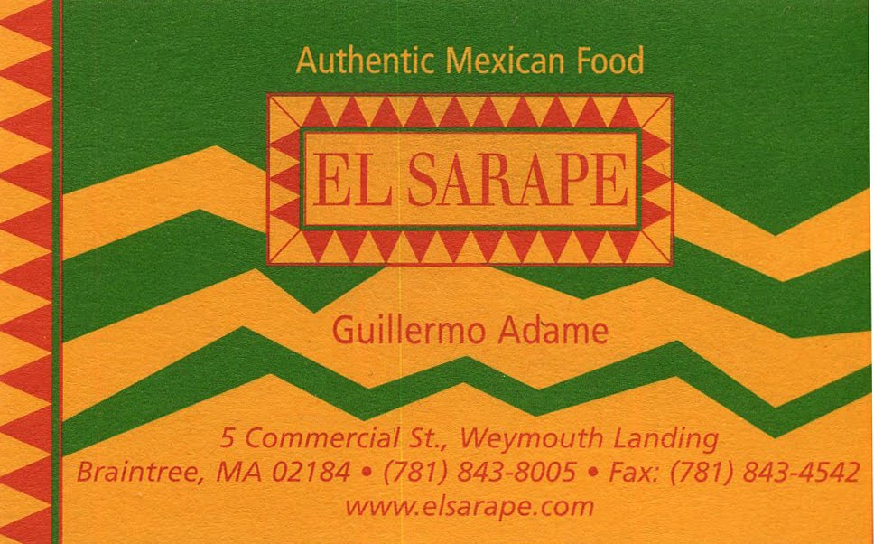 Mexican Restaurant Business Cards | Arts - Arts