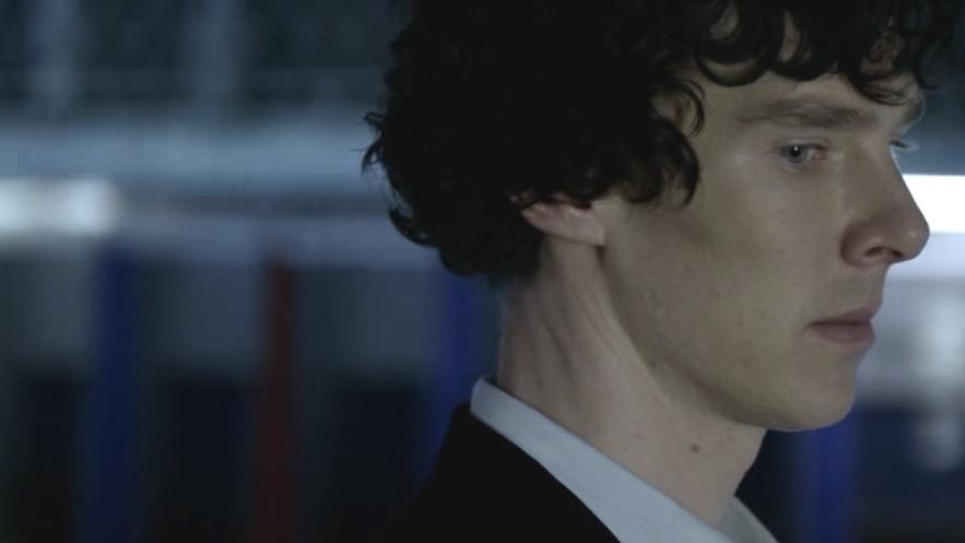 The Angst Report.: She... Benedict Cumberbatch Sherlock