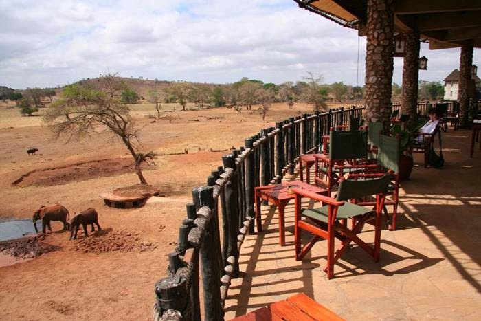 Sarova Salt Lick Game Lodge Hotel Kenya Tsavo National Park