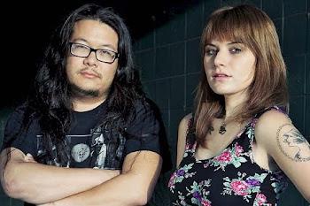 Beth Cosentino y Bobb Bruno, de Best Coast. |