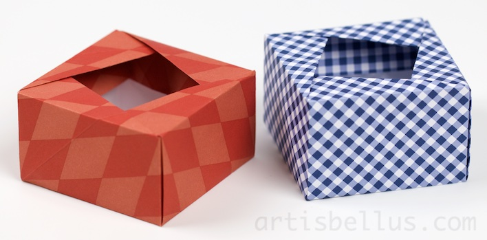 Image result for origami box.