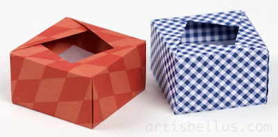 Origami Boxes: Square Box