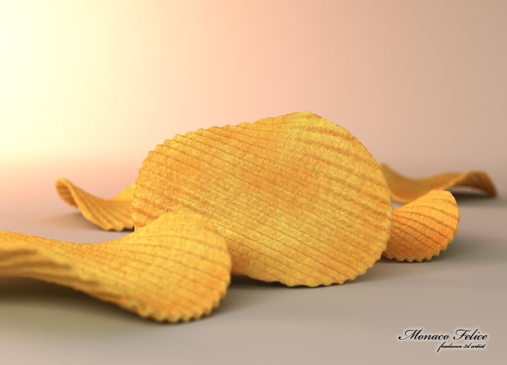 3d model for milling chips luks advertising element of pos materials. Black Bedroom Furniture Sets. Home Design Ideas