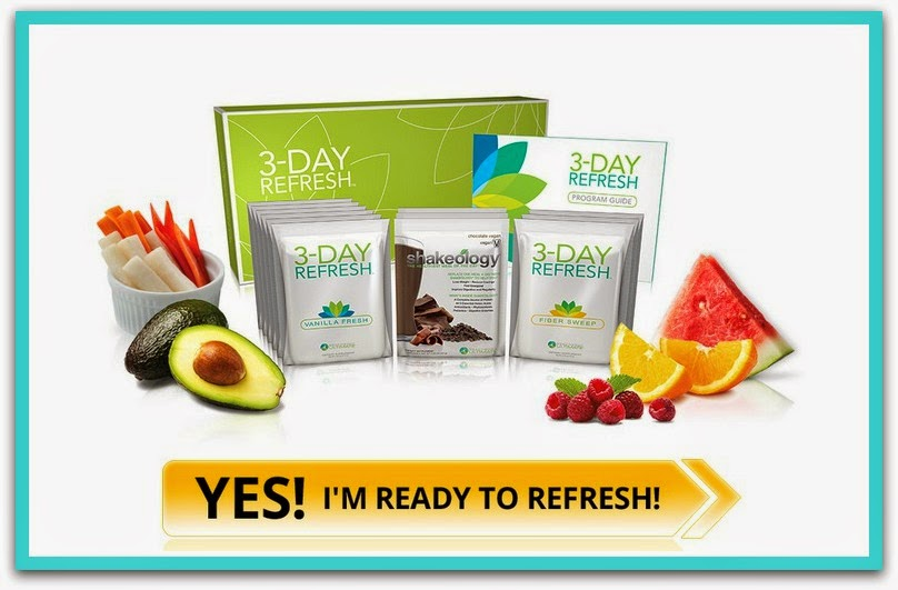 3 Day Refresh, Clean Eating Groups, 3 Day Refresh Results