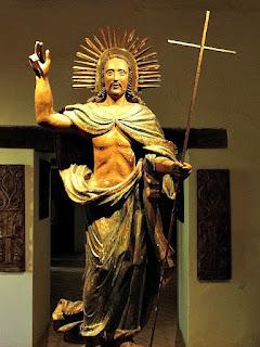 Cristo Ressuscitado no Museu Diocesano de San Ignacio Guazu, no Paraguai.