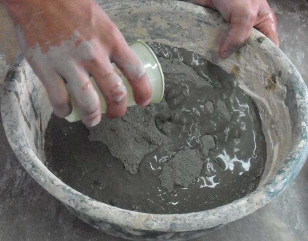 Moldes y reproducciones claudia franco molde perdido - Como mezclar cemento ...