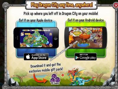 imagen de la promocion para ganar gratis el dragon elementos de dragon city