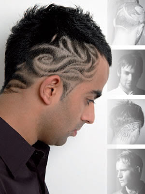 mens hair tattoos tips awesome tattoo designs cool