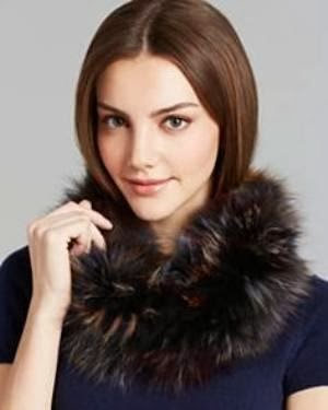 Shop Fox Fur Scarf @ Bloomingdales