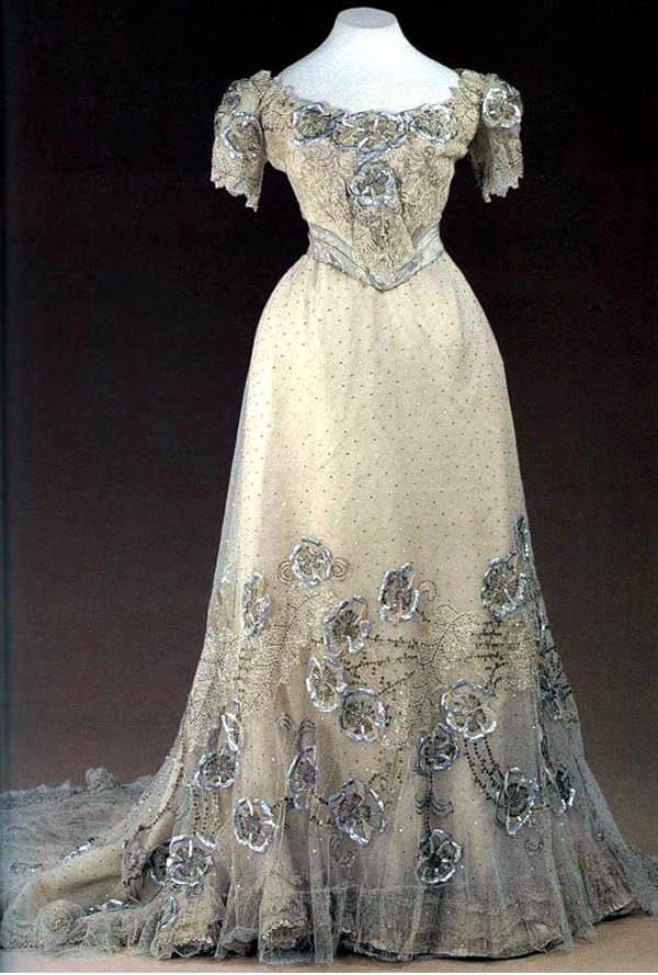 Robe 1900, inspiration pour robe de mariée
