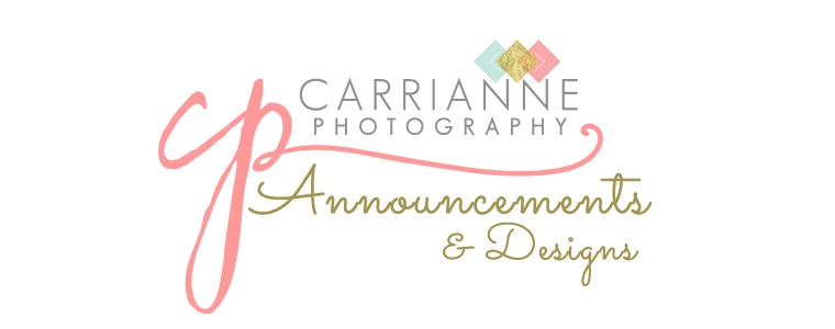 Carrianne Photography Cards & Design