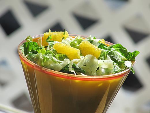 Home Skillet - Cooking Blog: Orange and Fennel Salad