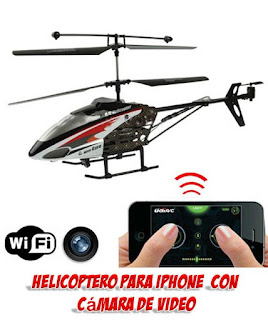 helicoptero iphone