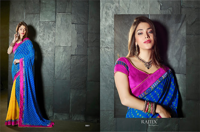 Karma-2 – Georgette And Banglori Silk Printed Saree