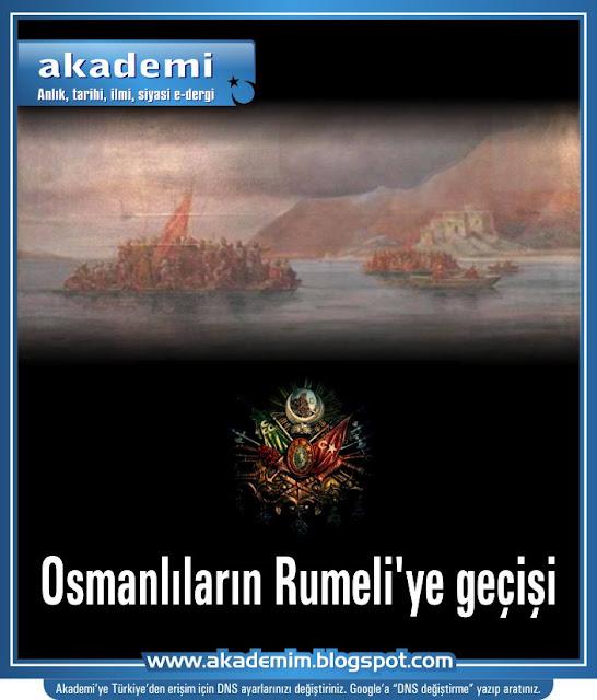 Osmanlıların Rumeli'ye geçişi