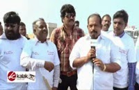 Power Star at Road Safety Helmet Awareness Rally