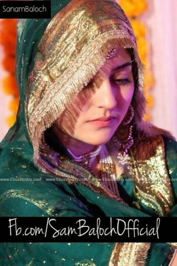 Pakistani FashionIndian FashionInternational FashionGossipsBeauty Tips Sanam Baloch Wedding