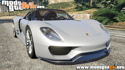 V - Porsche 918 Spyder para GTA V
