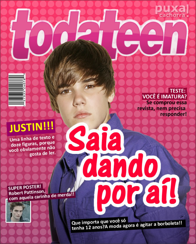 Capa sincera de Toda Teen
