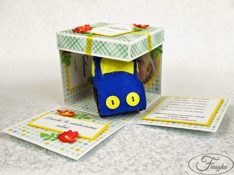 Ręcznie robione pudełko