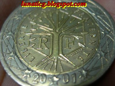 What is RF on euro coin? | Lunaticg Coin