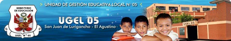PAGINA WEB DE LA UGEL 05