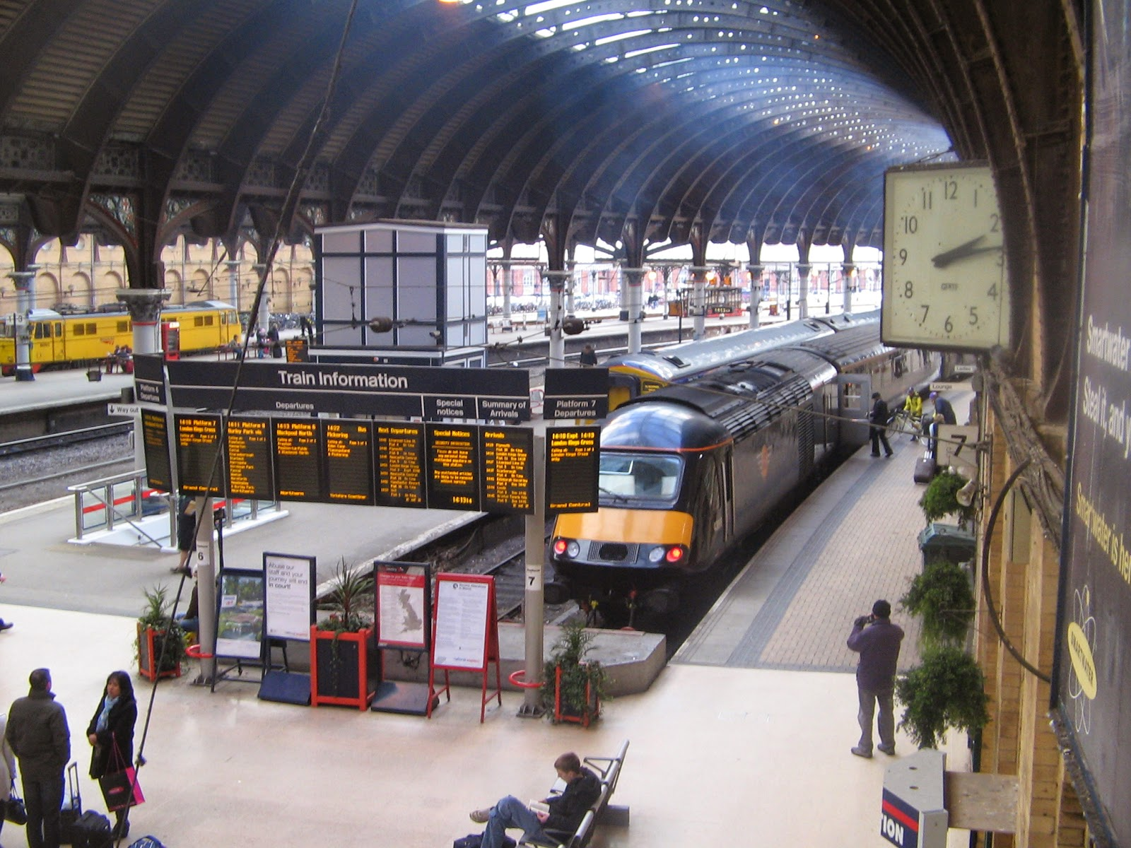 located next door to york train station is the national railway museum