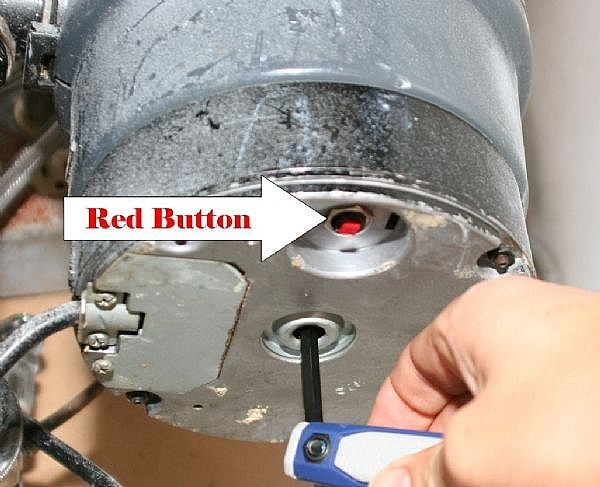 how to fix garbage disposal motor