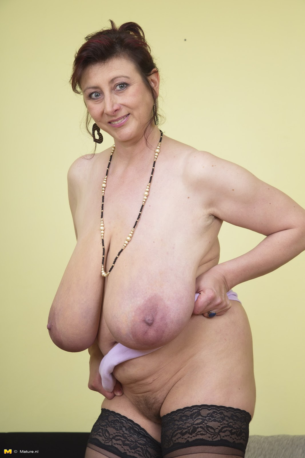 Big Black Granny Boobs