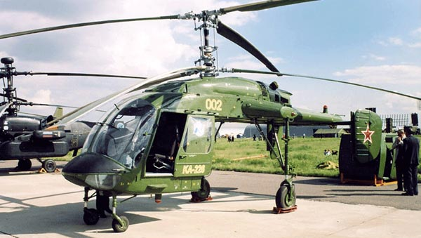 Ka-226 Sergeu Light Multipurpose Helicopter
