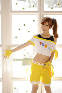 Chii Cosplay as Futami Mami from The Idolmaster