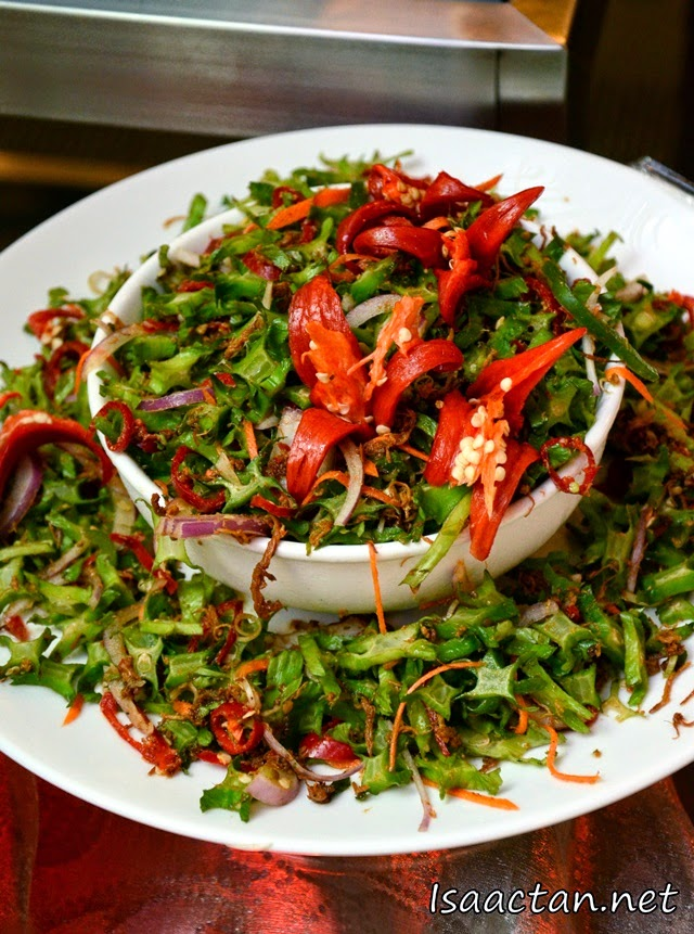 More spicy ulam vegetables for us to savour